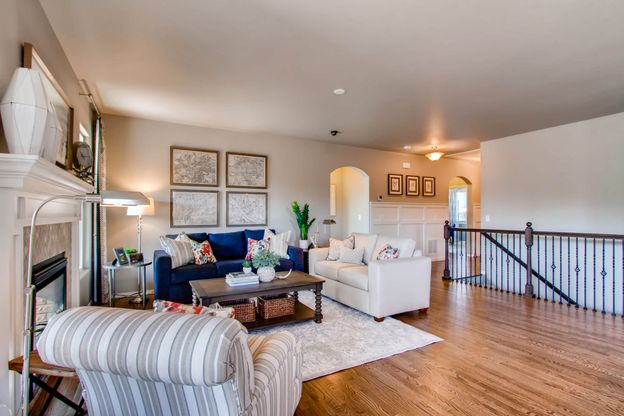 """Single Family, Low Maintenance Patio Homes:The """"Kipling"""" open concept ranch plan at Hidden Brook at North Fork"""