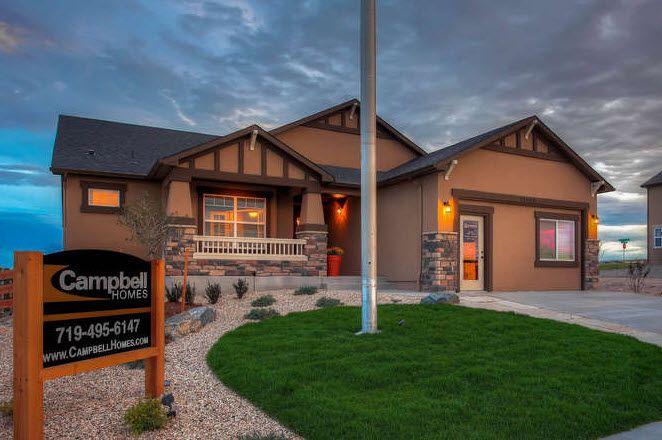 Meridian Ranch By Campbell Homes In Colorado Springs Colorado
