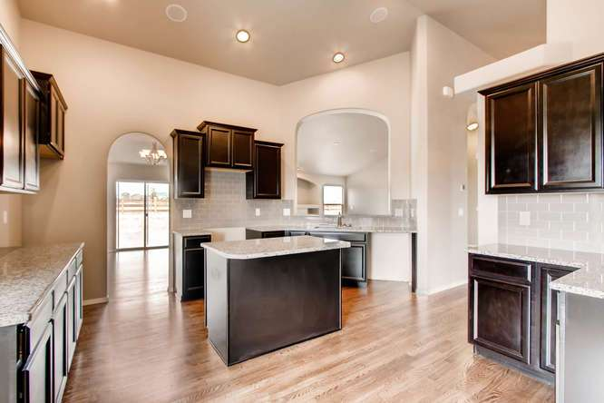 Kitchen featured in the Raintree By Campbell Homes in Colorado Springs, CO