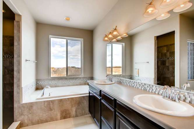 Bathroom featured in the Raintree By Campbell Homes in Colorado Springs, CO