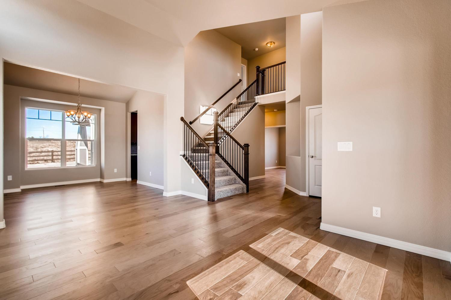 Living Area featured in the Wilshire By Campbell Homes in Colorado Springs, CO