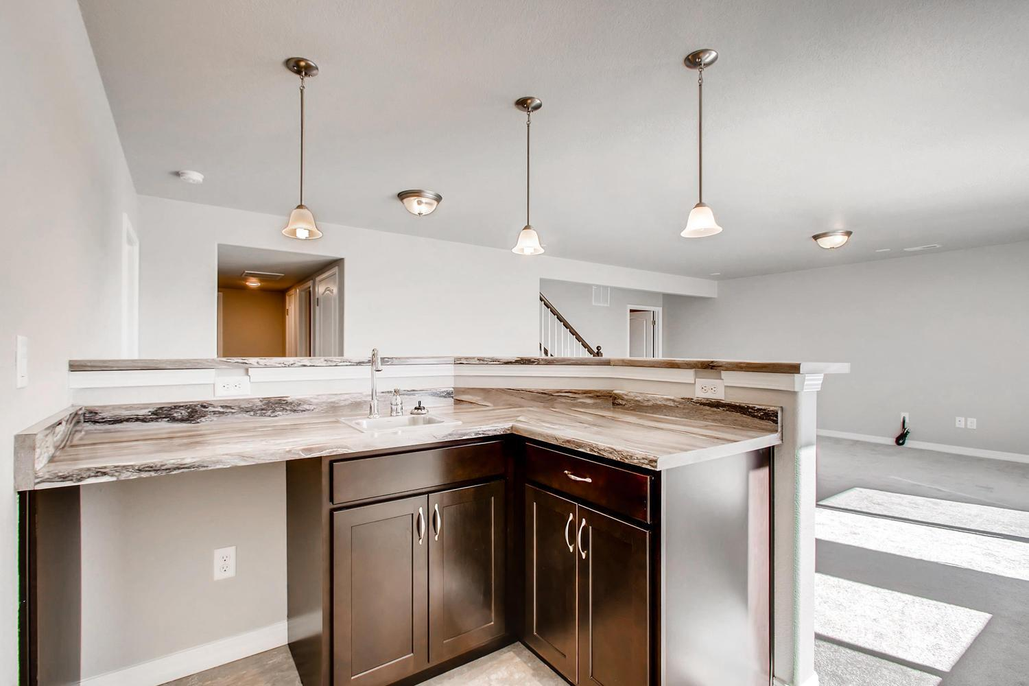 Kitchen featured in the Augusta By Campbell Homes in Colorado Springs, CO
