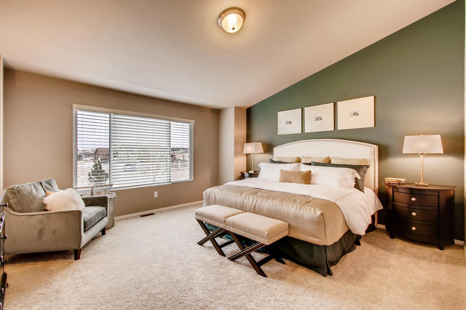 Bedroom featured in the Raintree By Campbell Homes in Colorado Springs, CO