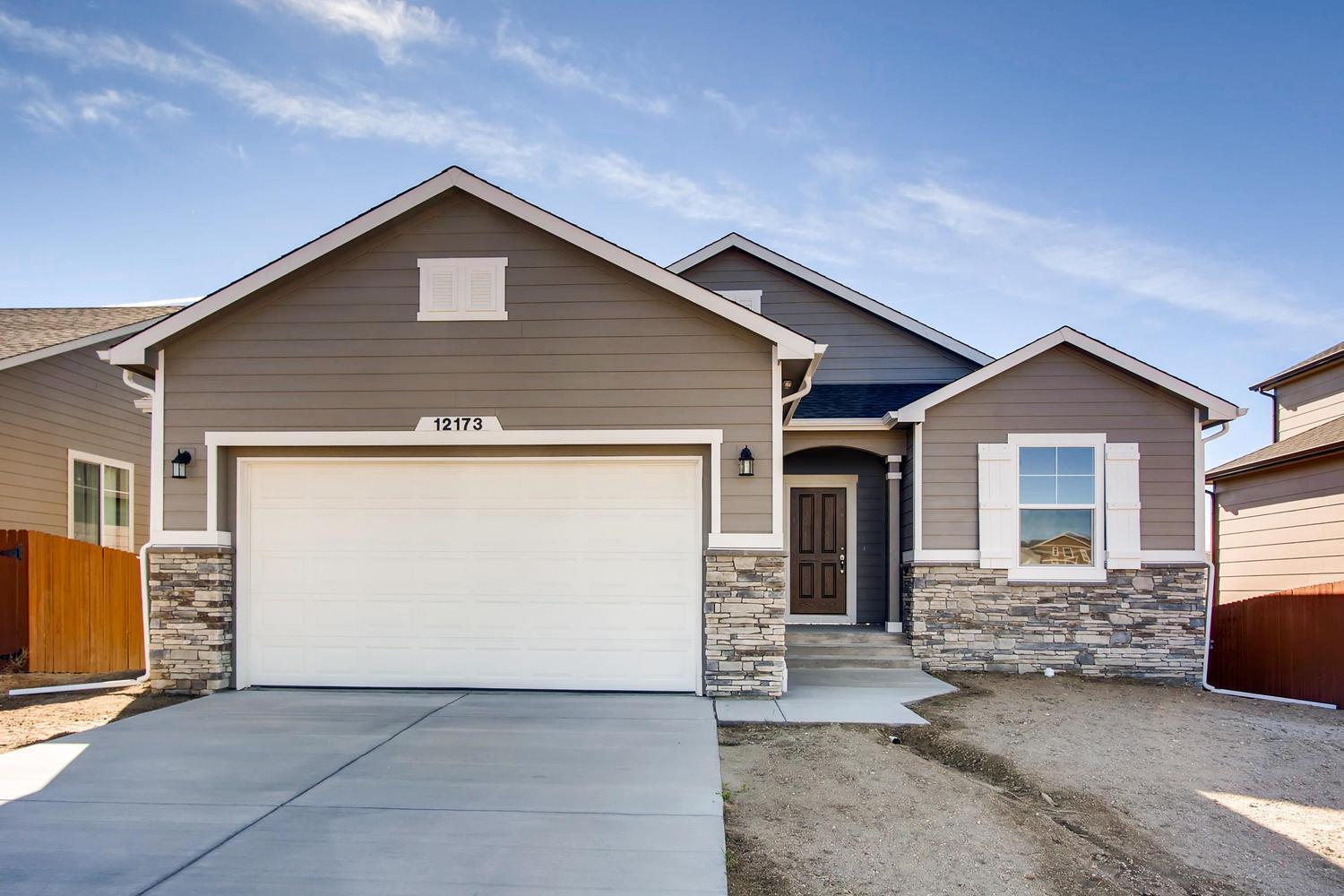 Exterior featured in the Augusta By Campbell Homes in Colorado Springs, CO