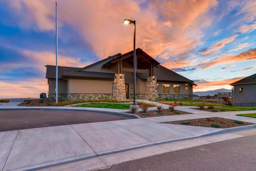 'Meridian Ranch' by Campbell Homes in Colorado Springs