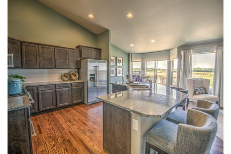 Kitchen-in-Plum Creek-at-Meridian Ranch-in-Falcon