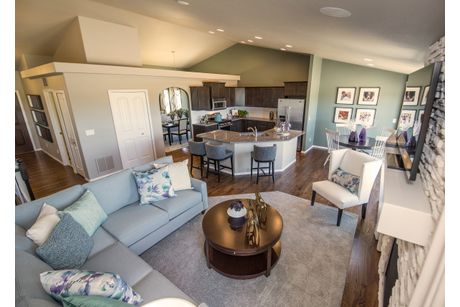 Greatroom-and-Dining-in-Plum Creek-at-Meridian Ranch-in-Falcon