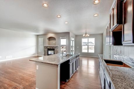 Kitchen-in-Kirkland-at-Meridian Ranch-in-Falcon