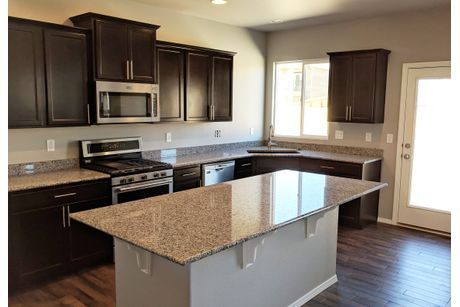 Kitchen-in-Monarch-at-Meridian Ranch-in-Falcon