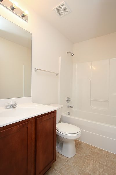 Bathroom featured in The Hudson By Cannon Builders, Inc.  in St. Louis, MO