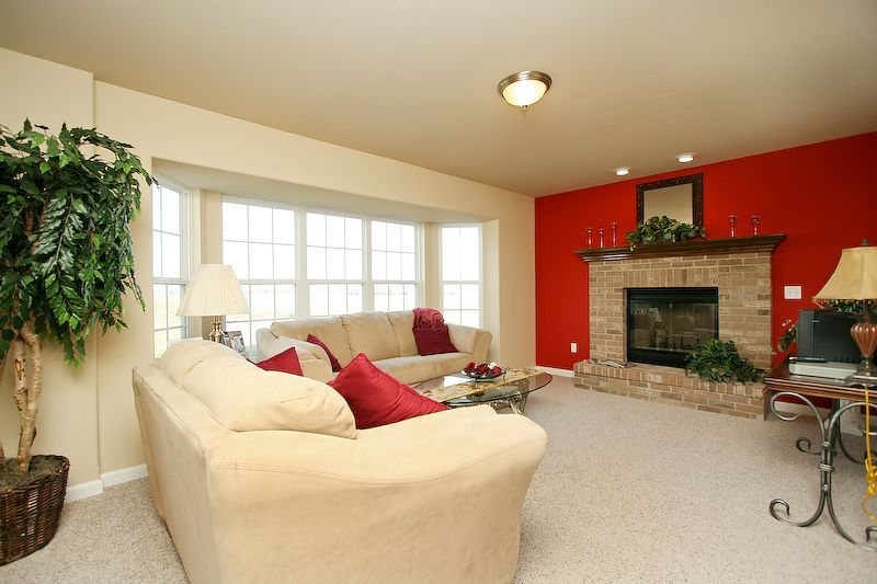 Living Area featured in The St. George By Cannon Builders, Inc.  in St. Louis, MO