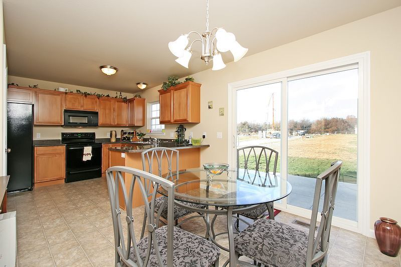 Kitchen featured in The St. George By Cannon Builders, Inc.  in St. Louis, MO