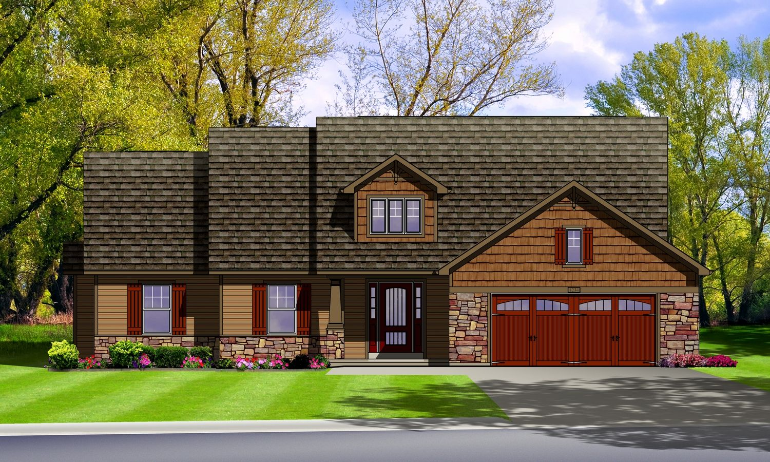 Exterior featured in The Tuscany By Cannon Builders, Inc.  in St. Louis, MO