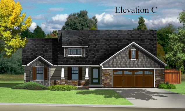 Exterior featured in The Piedmont By Cannon Builders, Inc.  in St. Louis, MO