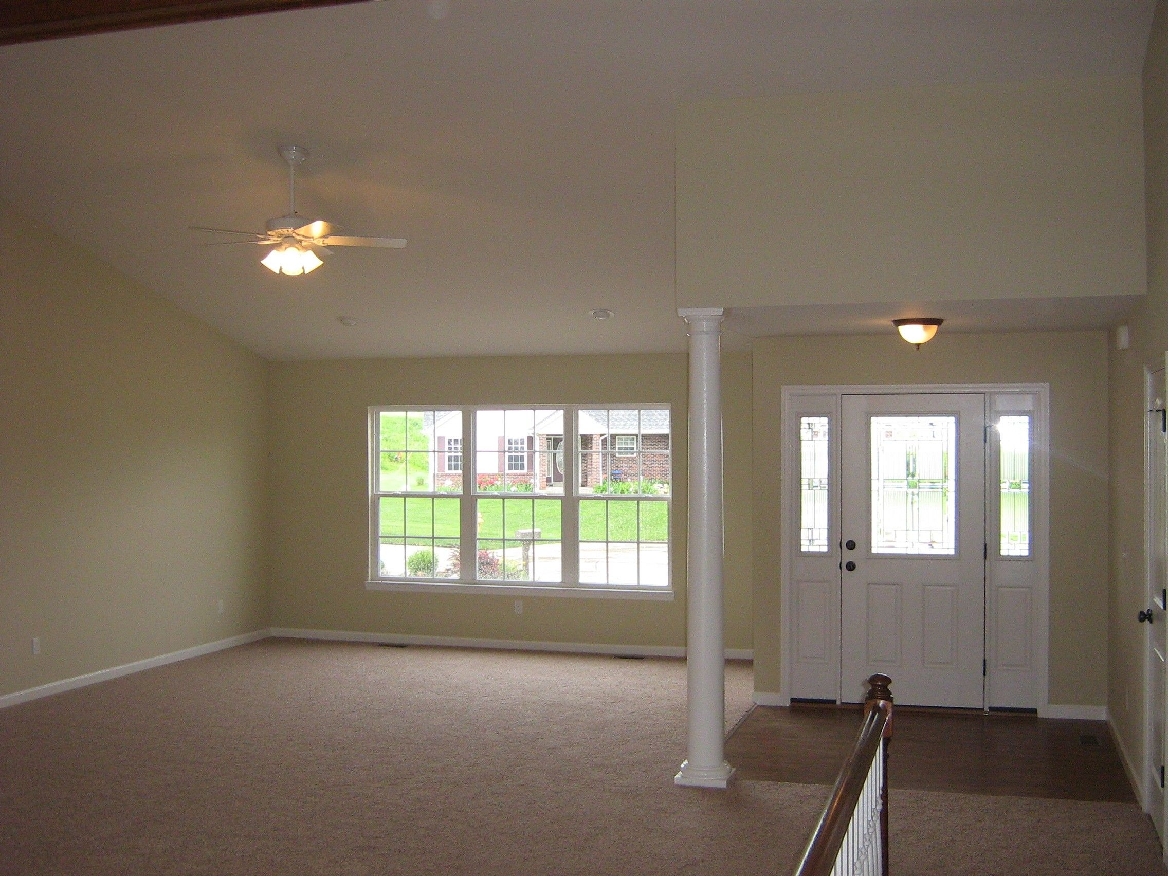 Living Area featured in The Vinho By Cannon Builders, Inc.  in St. Louis, MO