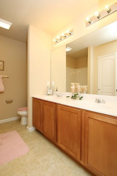 Bathroom featured in The Alsace By Cannon Builders, Inc.  in St. Louis, MO