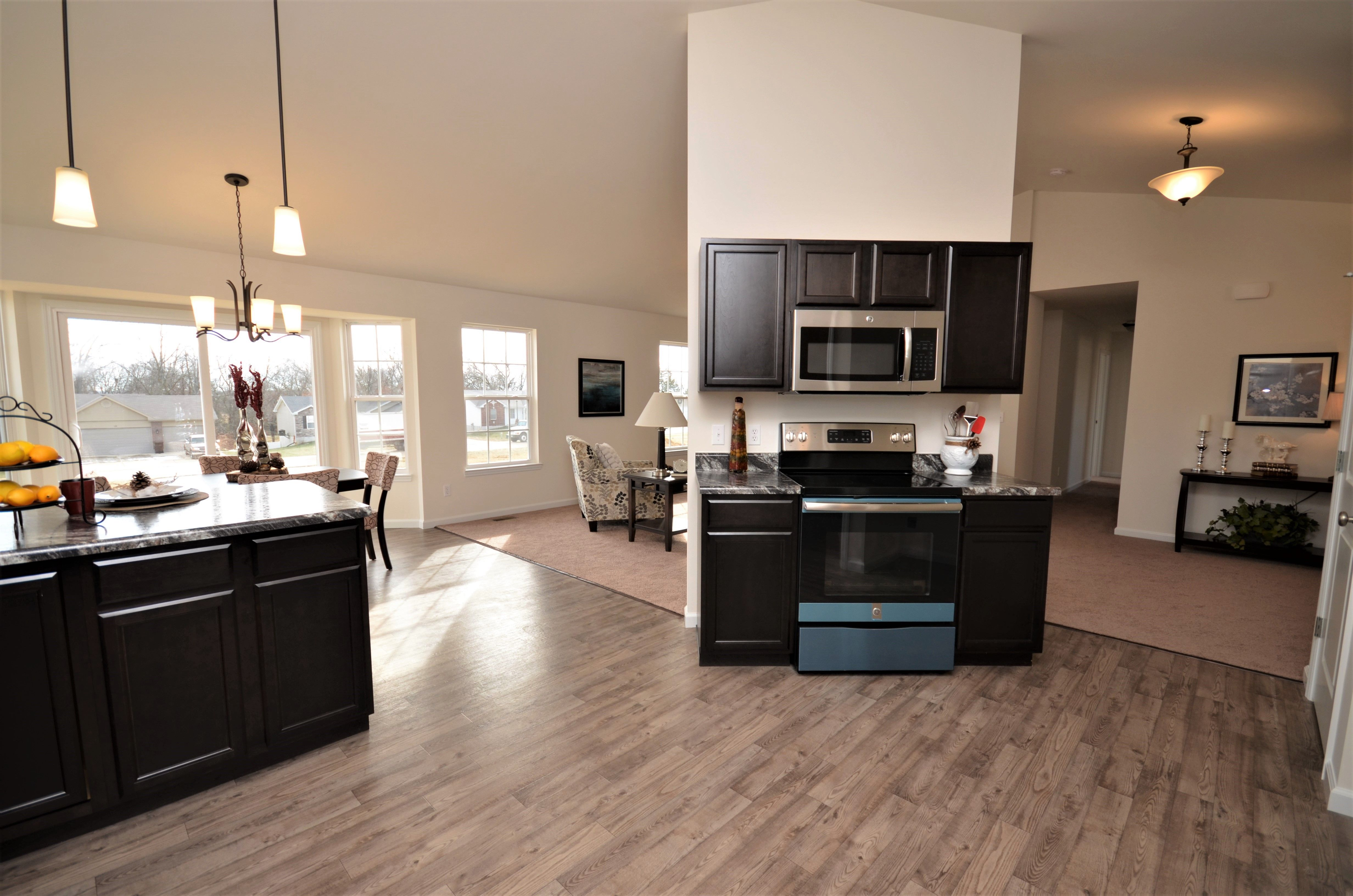 Kitchen featured in The Charleston By Cannon Builders, Inc.  in St. Louis, MO