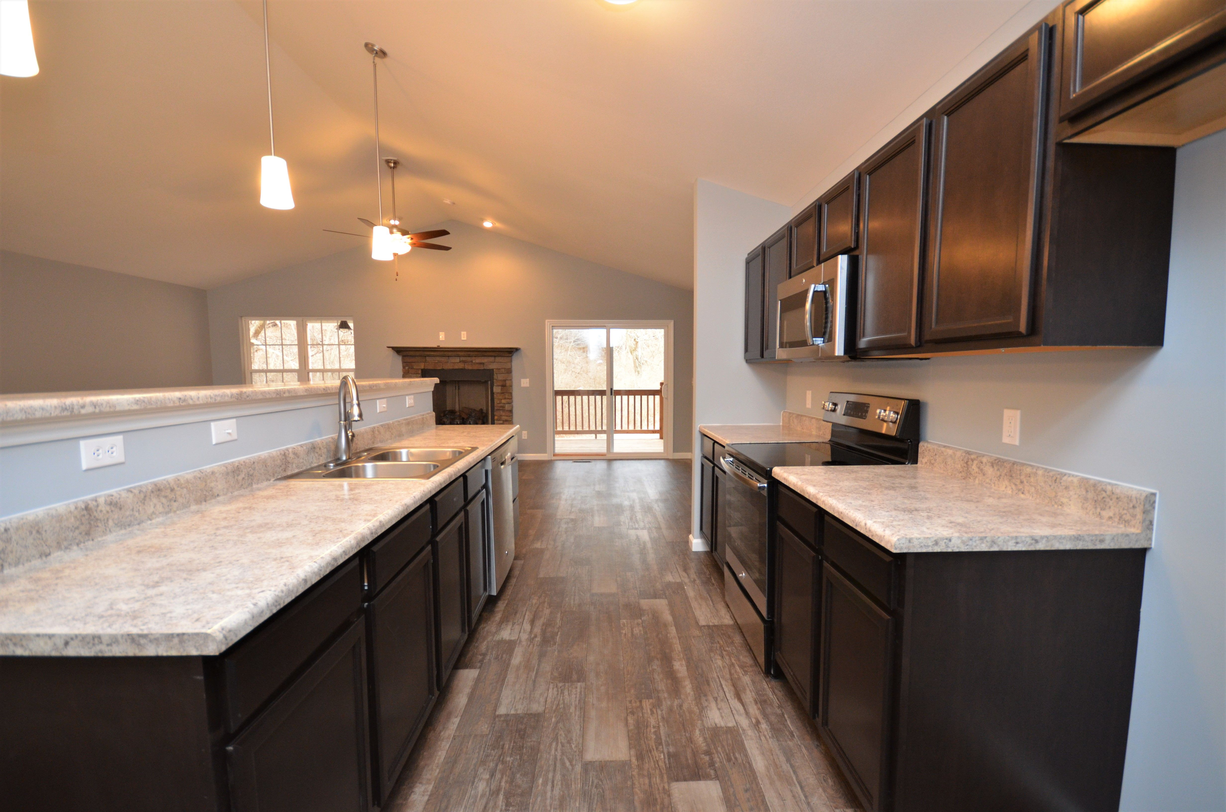Kitchen featured in The Hermitage By Cannon Builders, Inc.  in St. Louis, MO