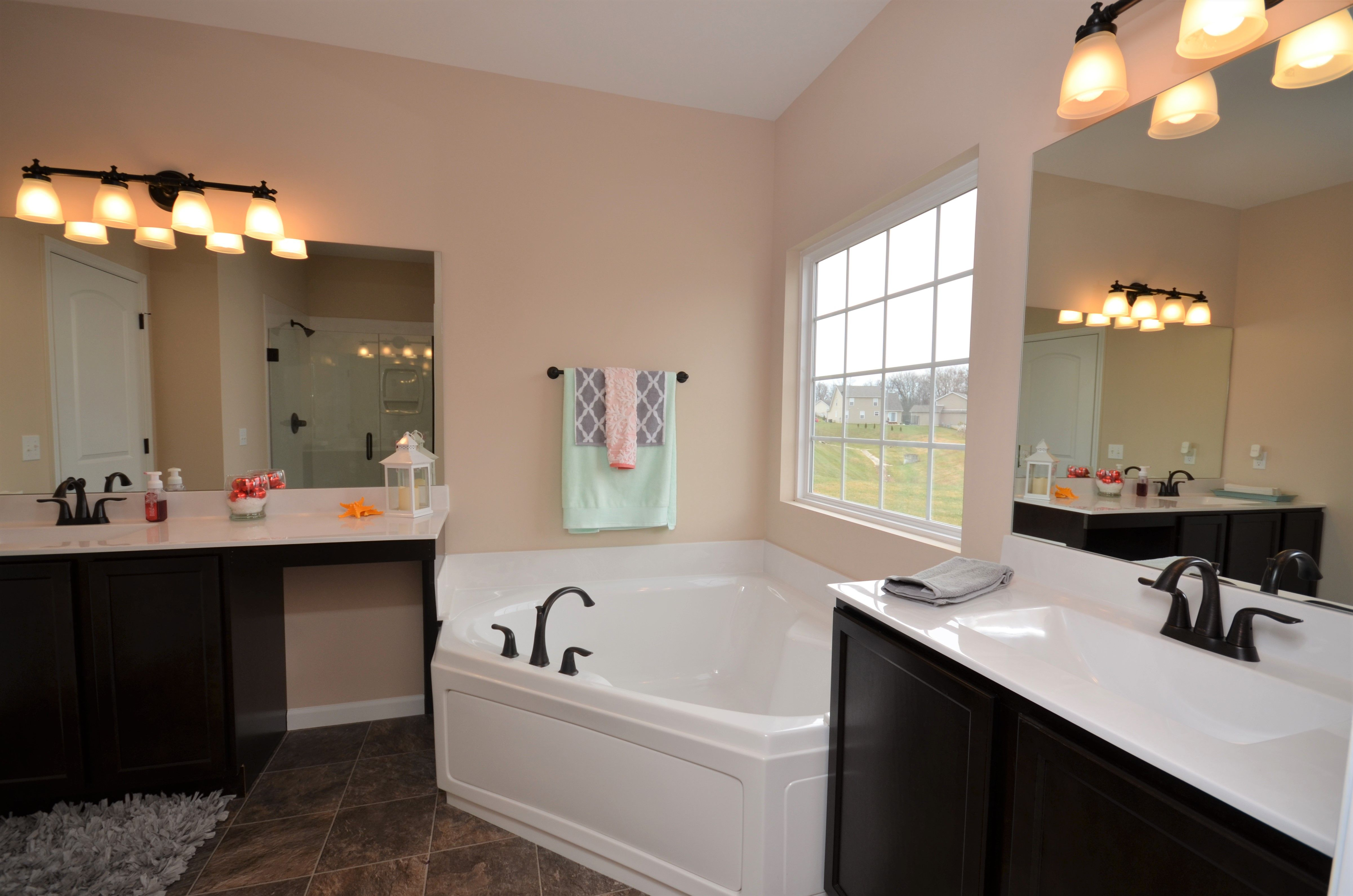 Bathroom featured in The Verona By Cannon Builders, Inc.  in St. Louis, MO