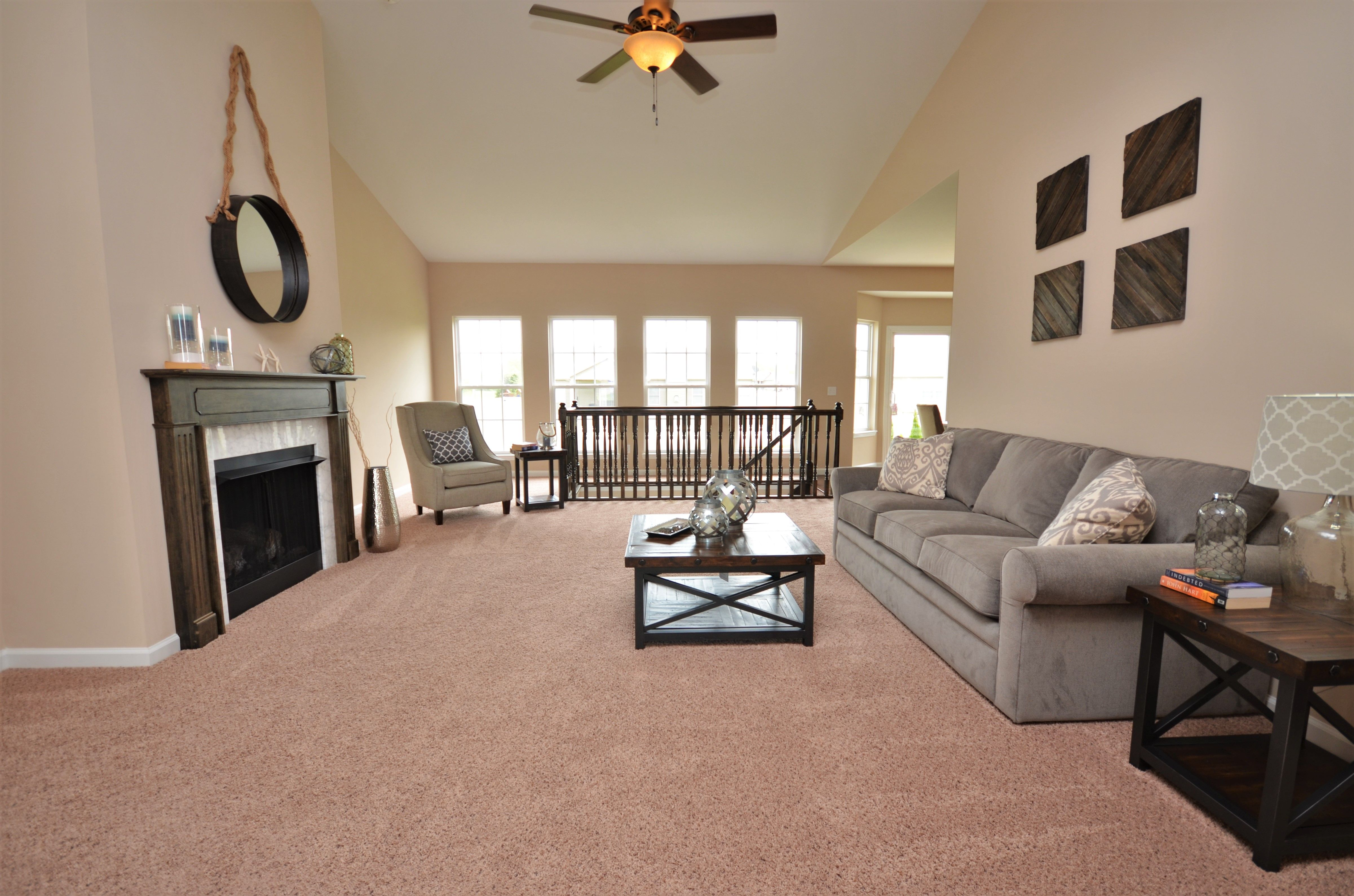 Living Area featured in The Maplewood By Cannon Builders, Inc.  in St. Louis, MO