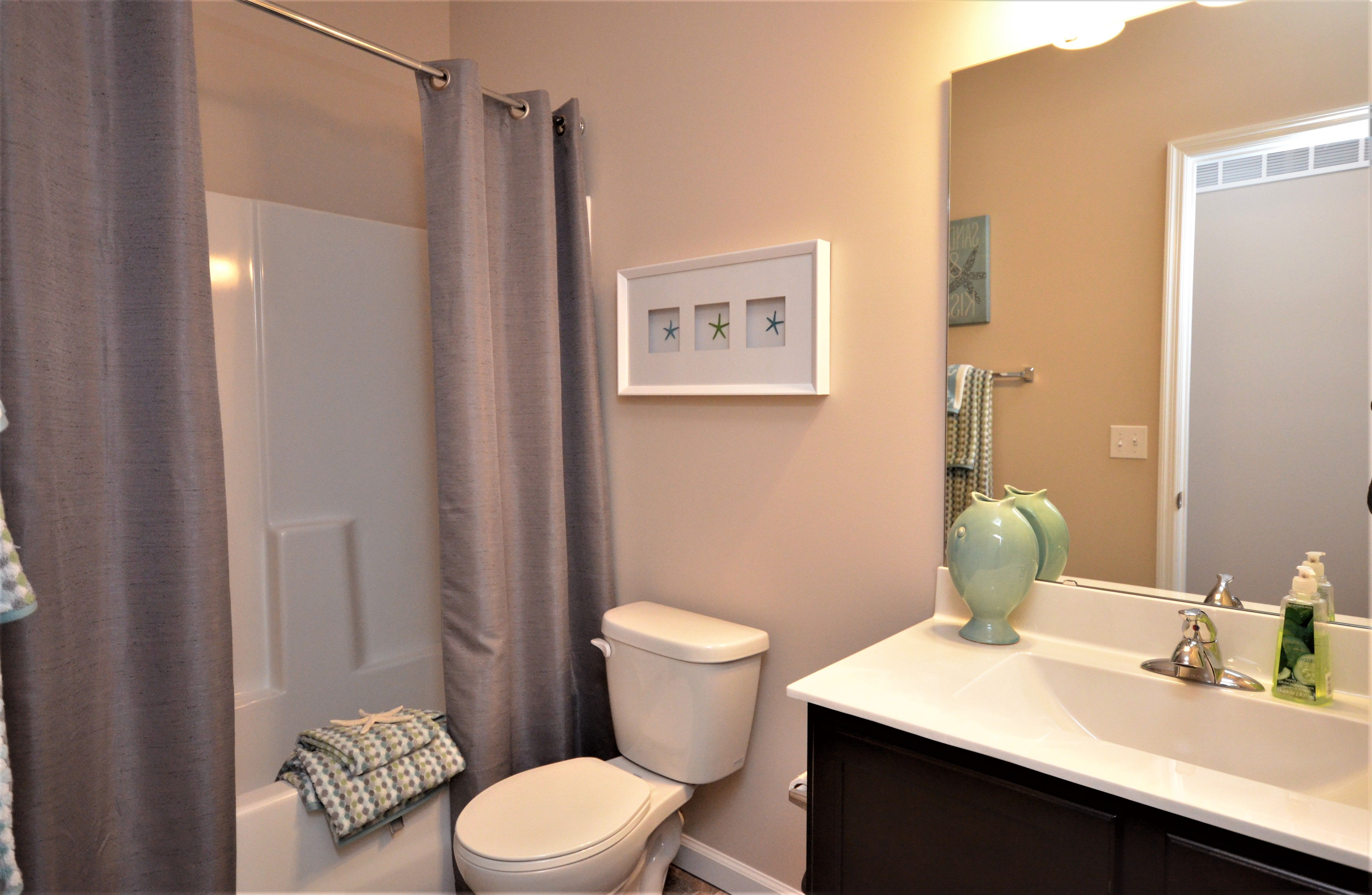 Bathroom featured in The Maplewood By Cannon Builders, Inc.  in St. Louis, MO
