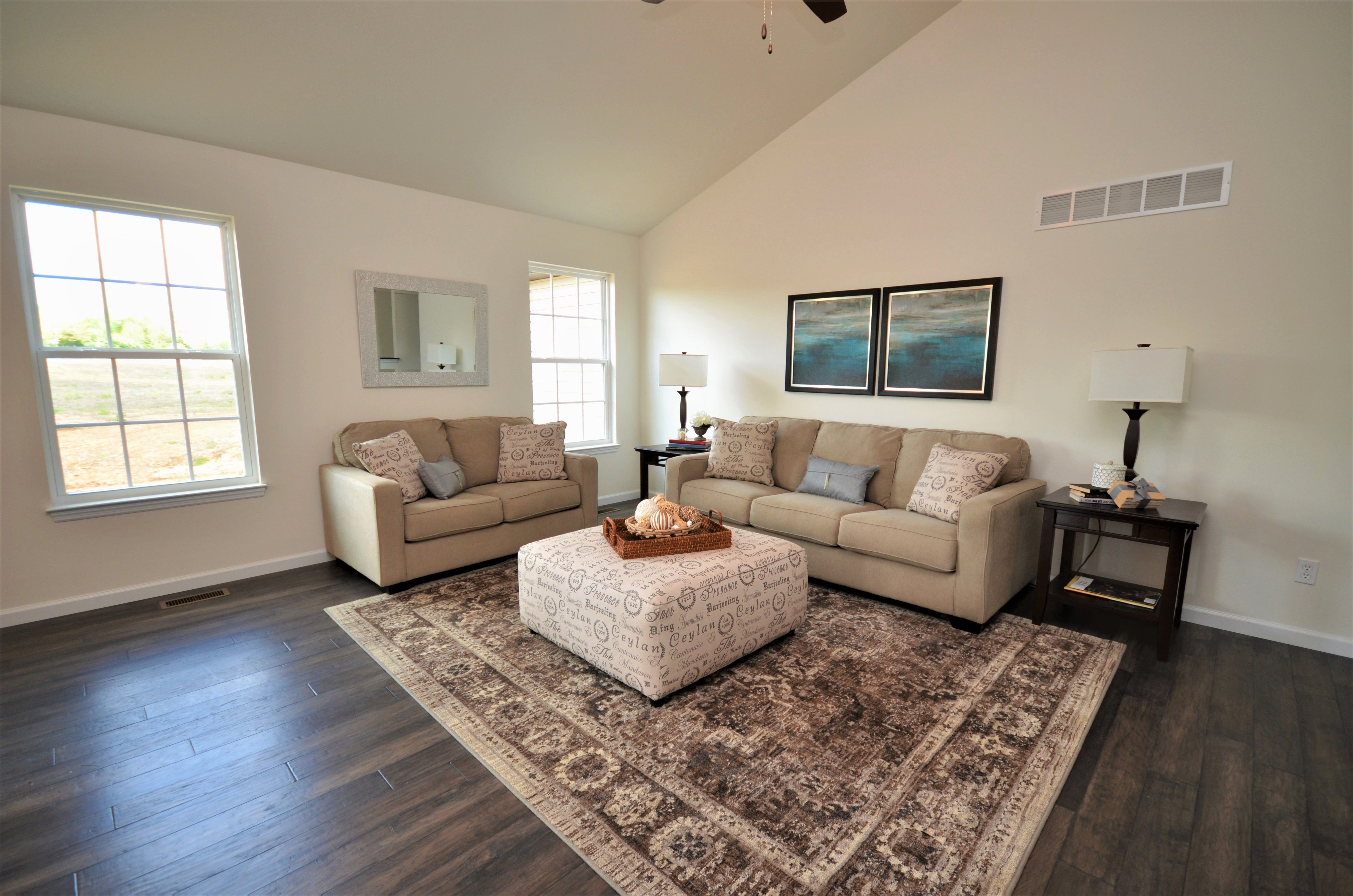 Living Area featured in The Shiraz By Cannon Builders, Inc.  in St. Louis, MO