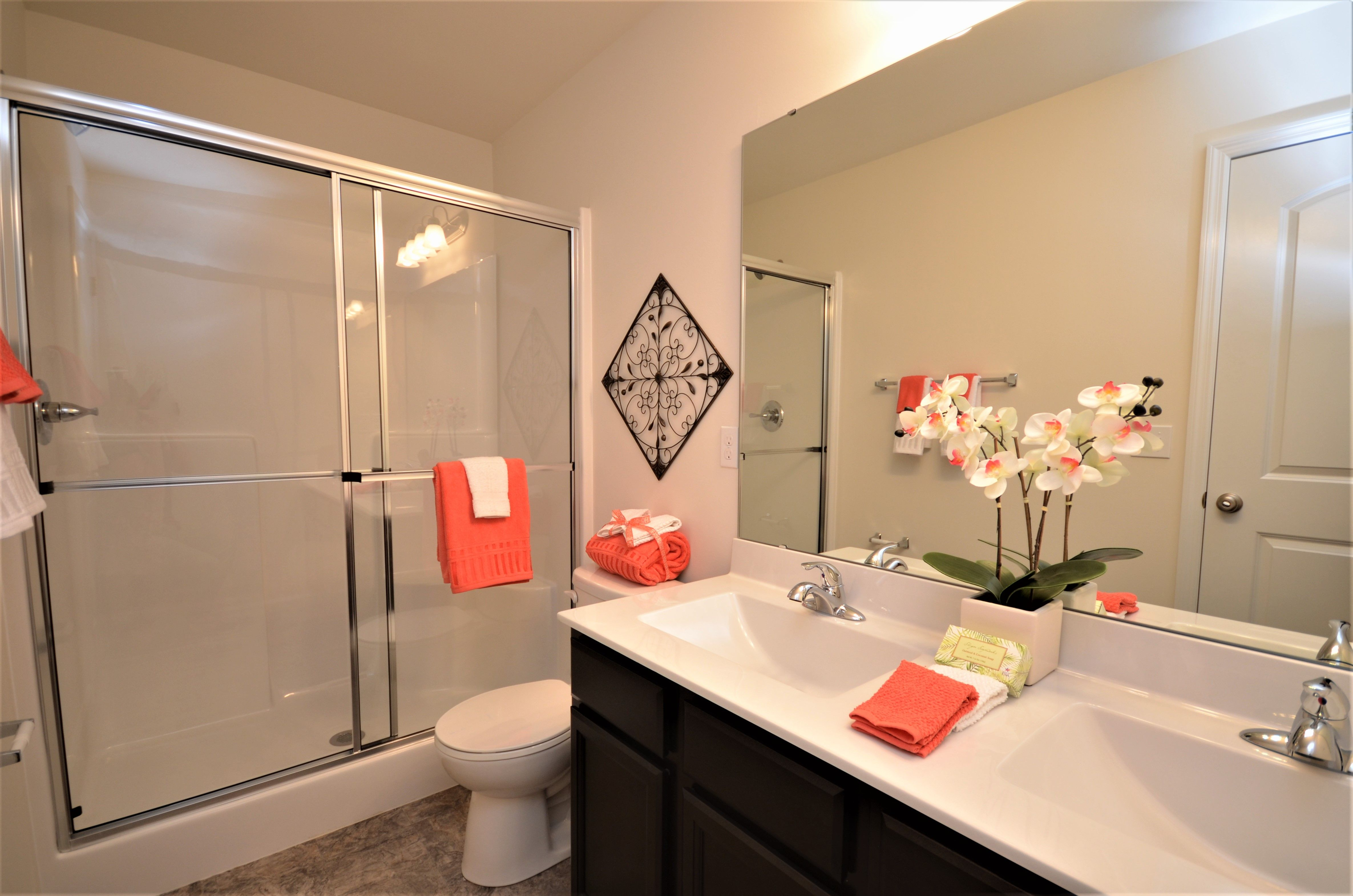 Bathroom featured in The Piedmont By Cannon Builders, Inc.  in St. Louis, MO