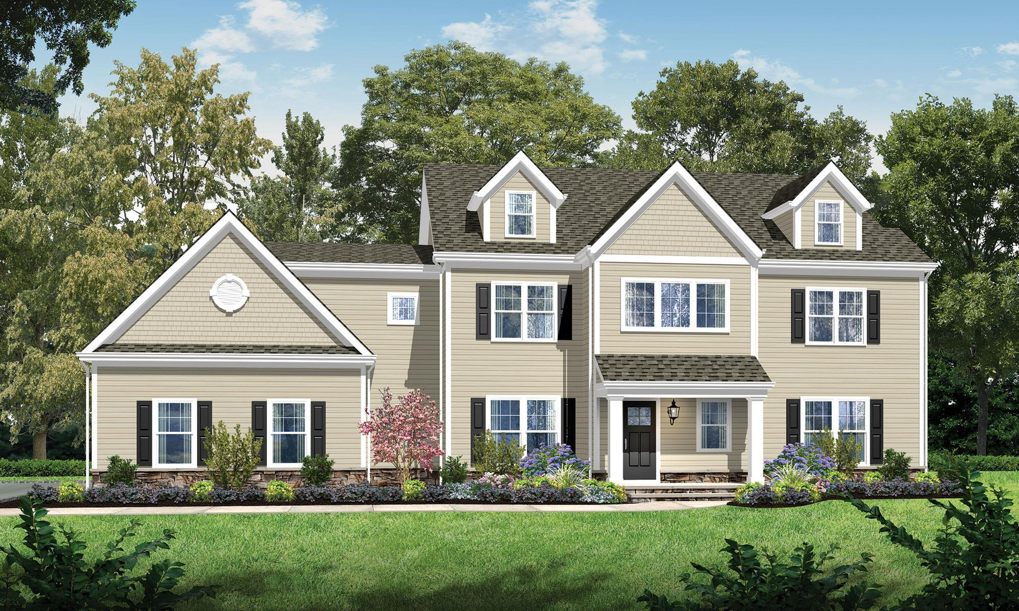 Exterior featured in The Cranberry By CantorBuild in Morris County, NJ
