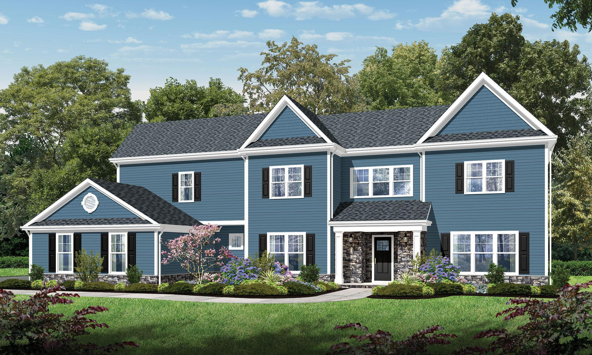 Exterior featured in The Waterloo By CantorBuild in Morris County, NJ