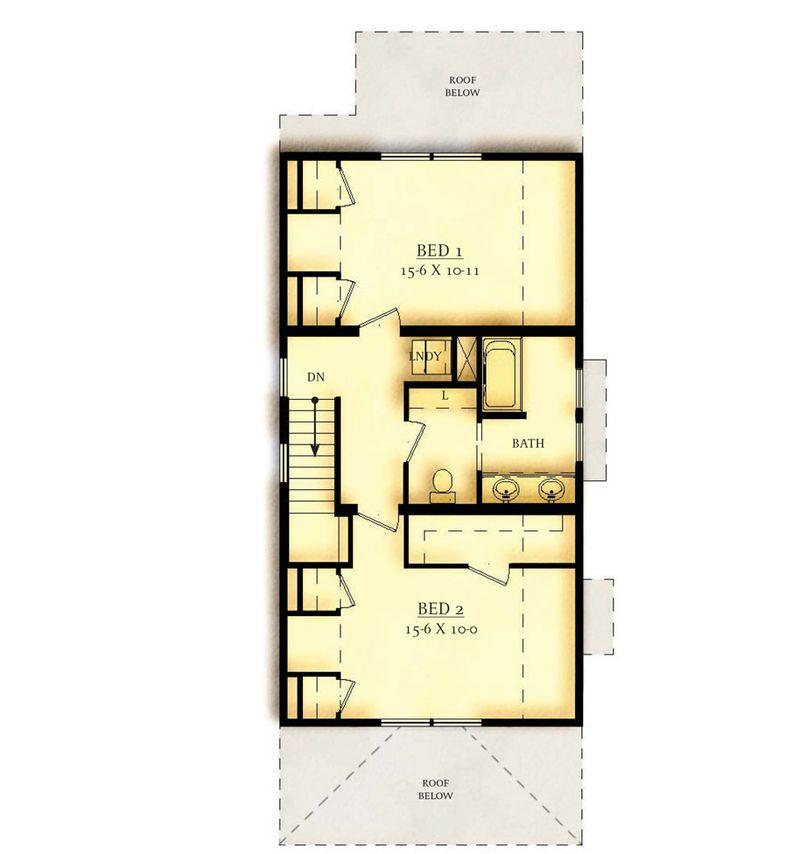 Option 1 Second Floor