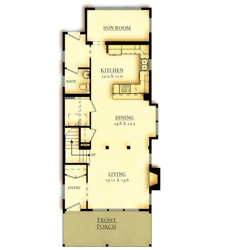 Option 1 First Floor