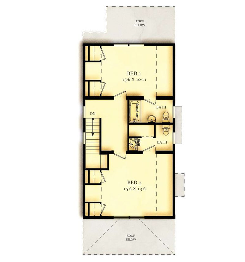 Option 2 Second Floor