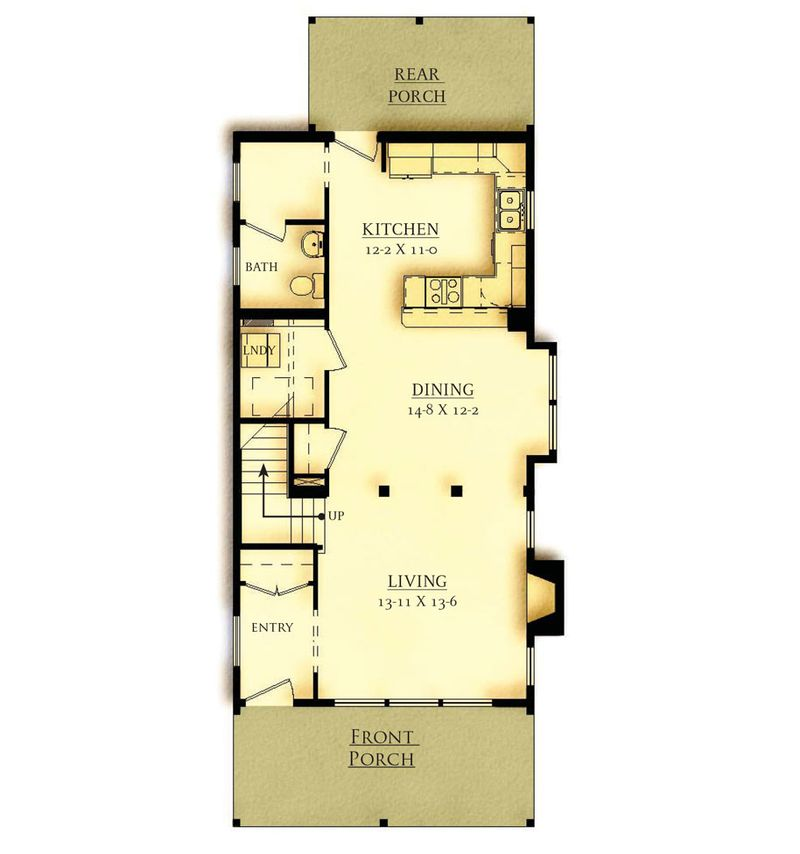 Option 2 First Floor