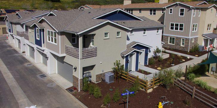 Exterior Elevation:2 story model