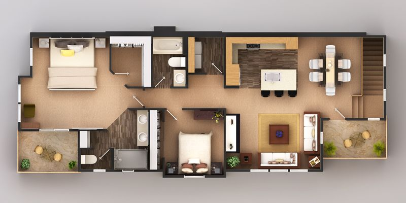Plan 6 - Second Floor