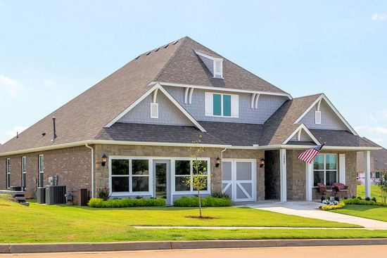 The Reserve at Bradford Park by Capital Homes in Tulsa Oklahoma