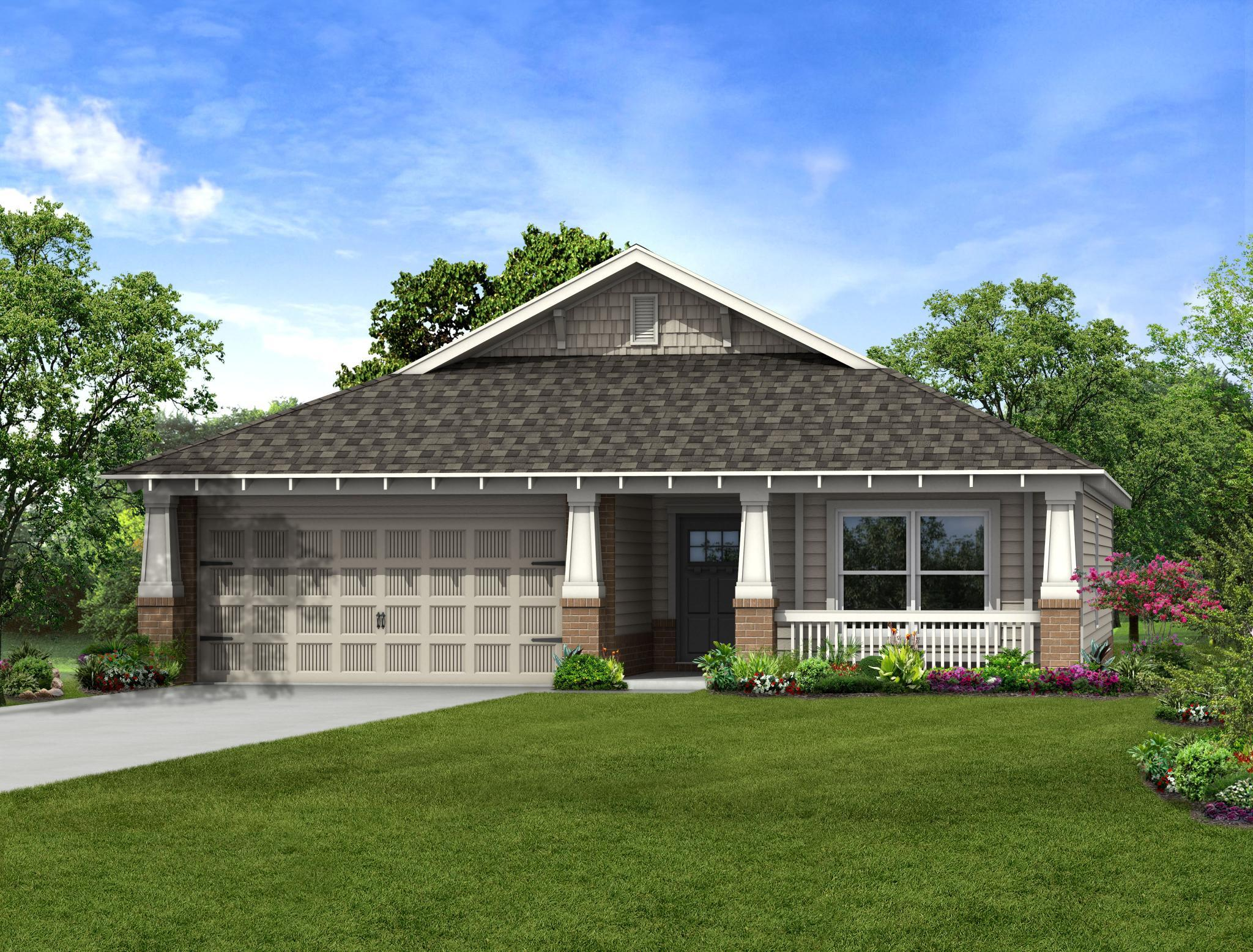 Exterior featured in the Belmont By Capital Homes in Tulsa, OK