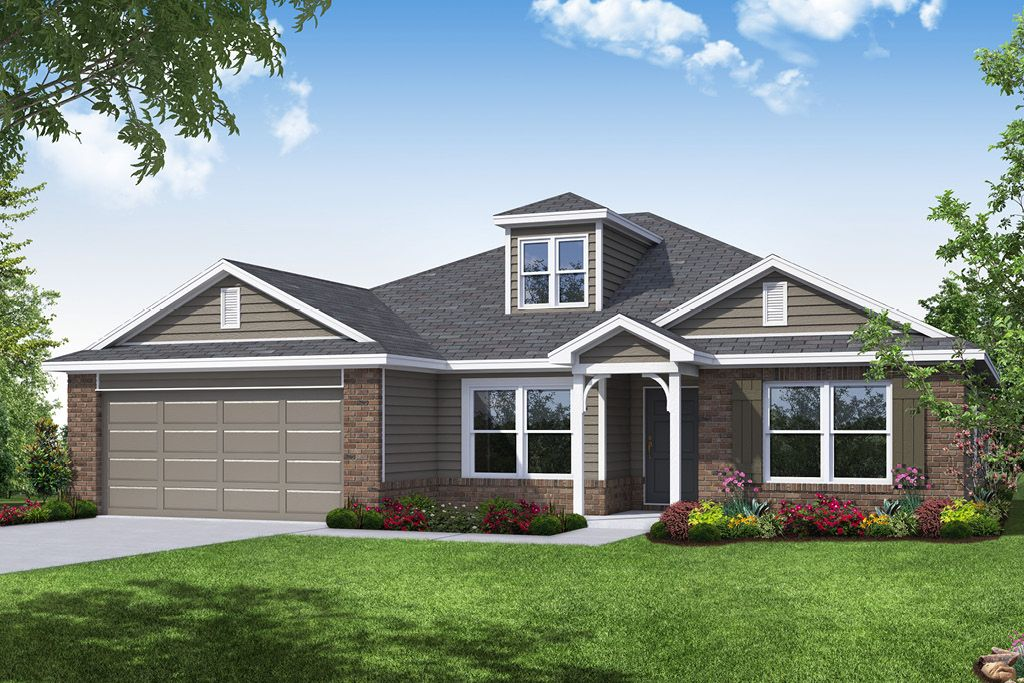 Exterior featured in the Jefferson By Capital Homes in Tulsa, OK
