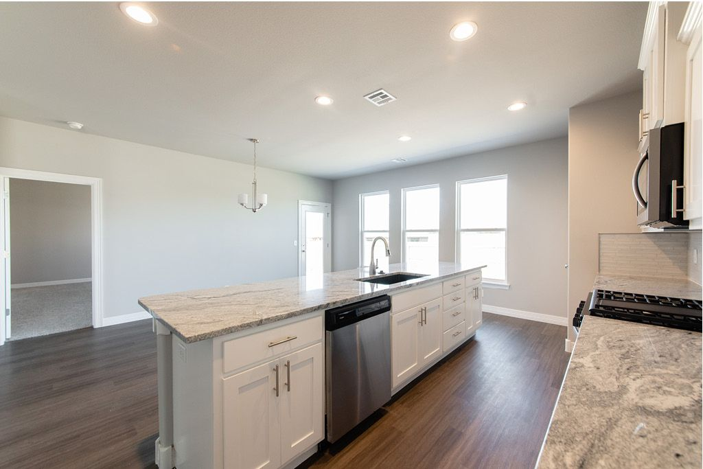 Kitchen featured in the Lincoln By Capital Homes in Tulsa, OK