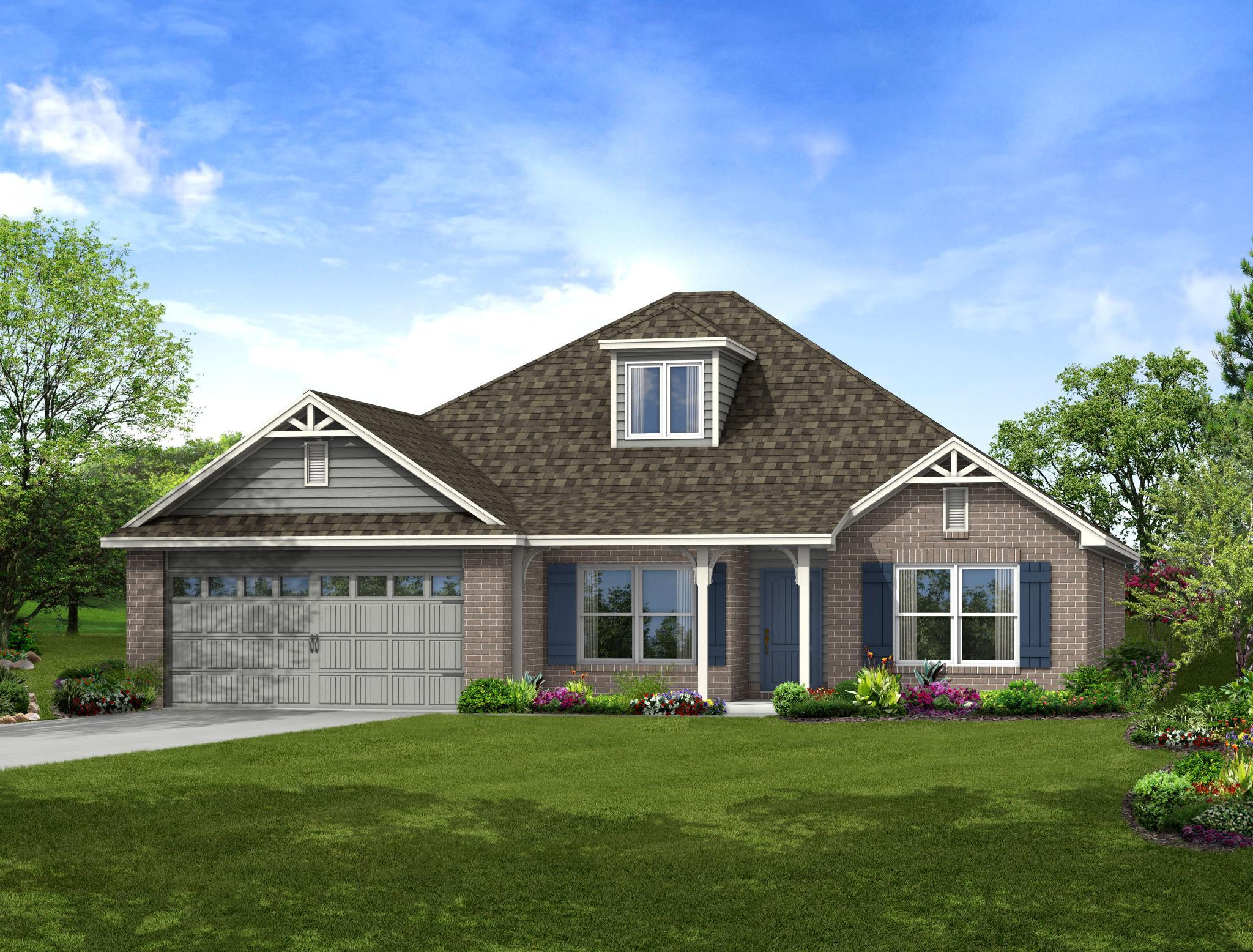 Exterior featured in the Madison By Capital Homes in Tulsa, OK