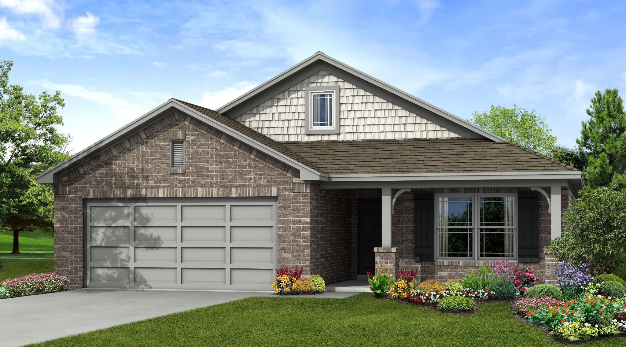 Exterior featured in the Tahoe By Capital Homes in Tulsa, OK