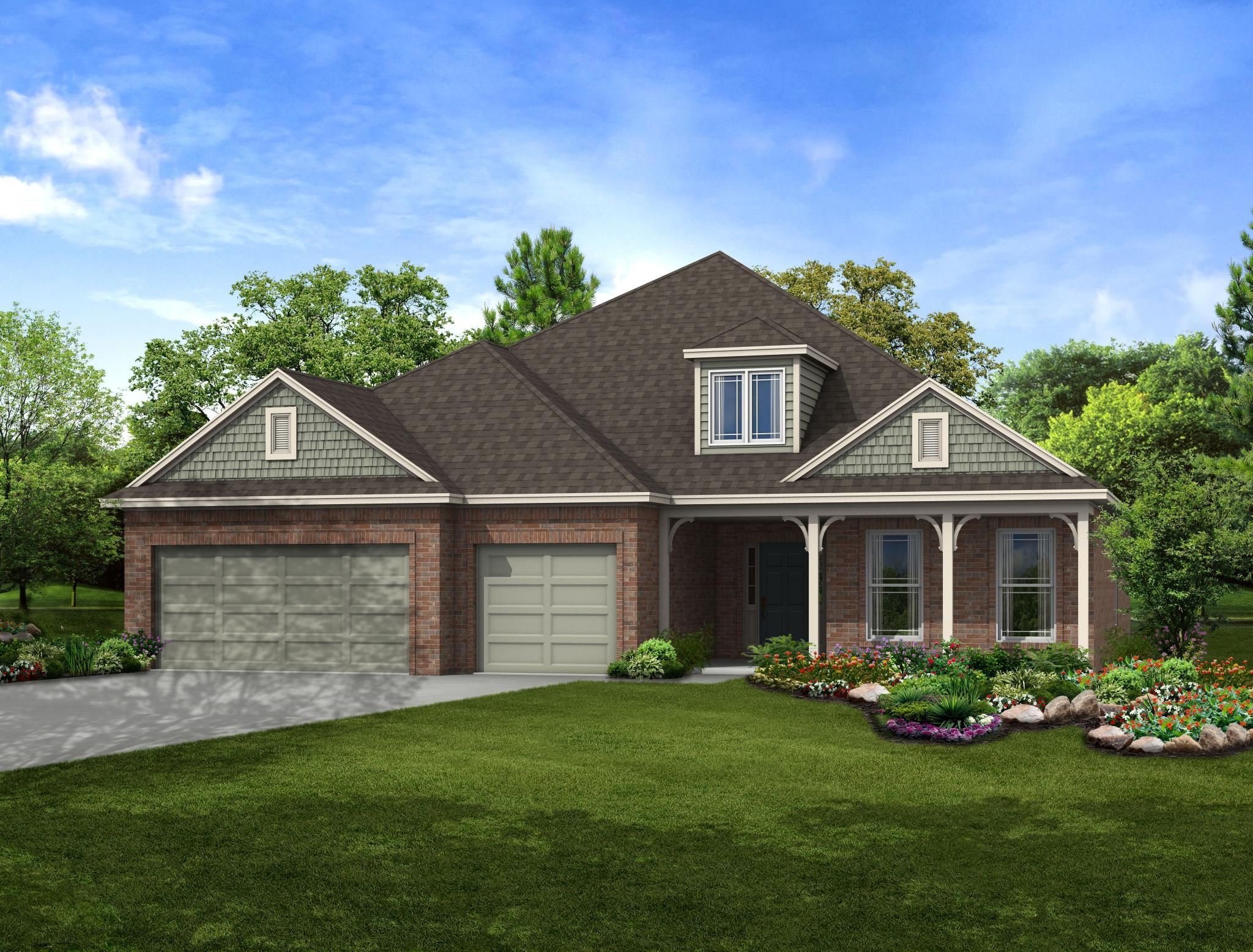 Exterior featured in the Columbus By Capital Homes in Tulsa, OK