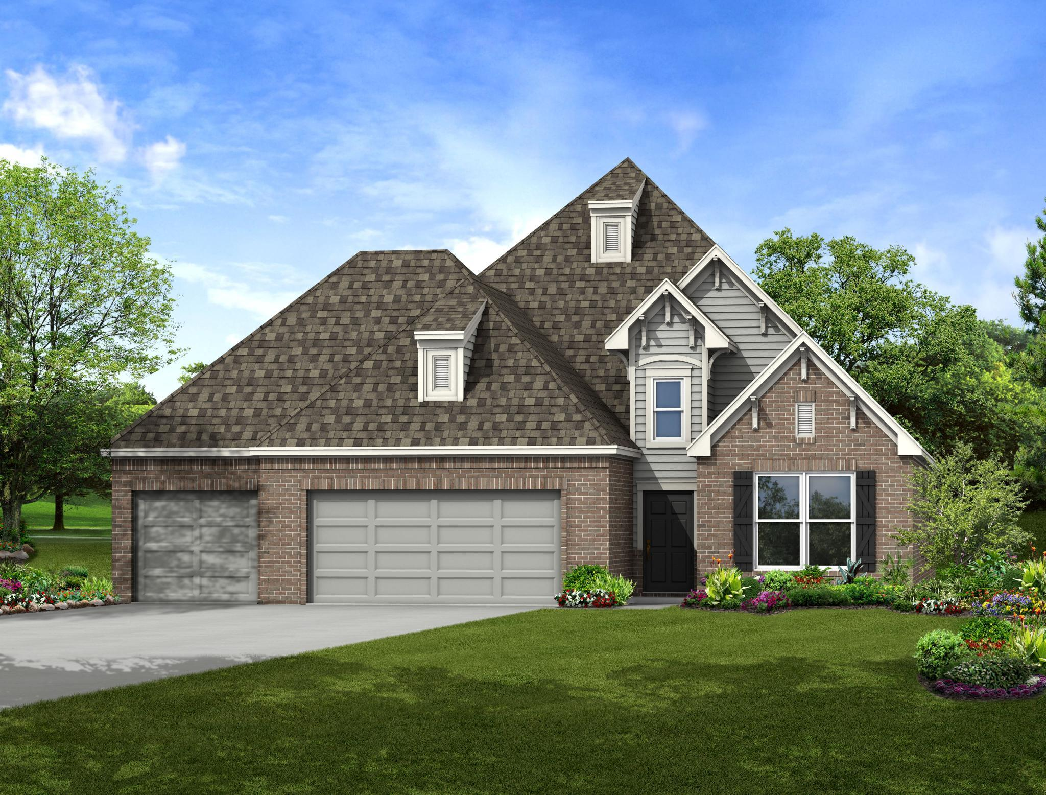 Exterior featured in the Kennedy By Capital Homes in Tulsa, OK