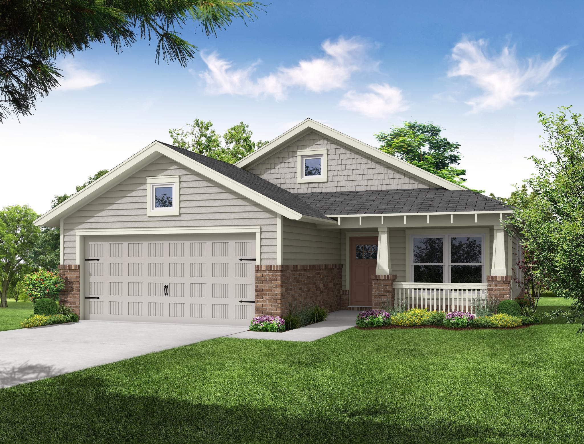 Exterior featured in the Piedmont By Capital Homes in Tulsa, OK