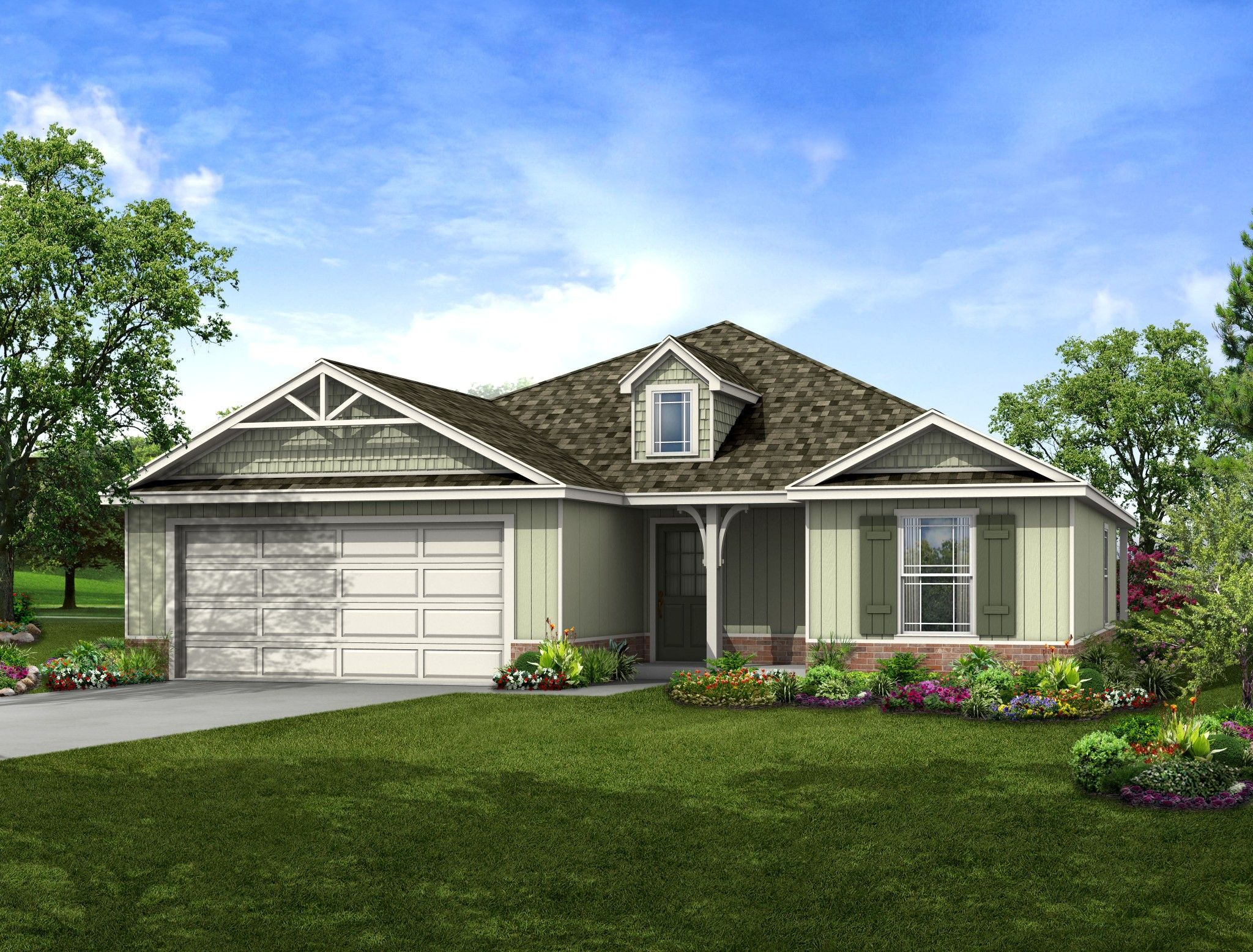Exterior featured in the Shenandoah By Capital Homes in Tulsa, OK