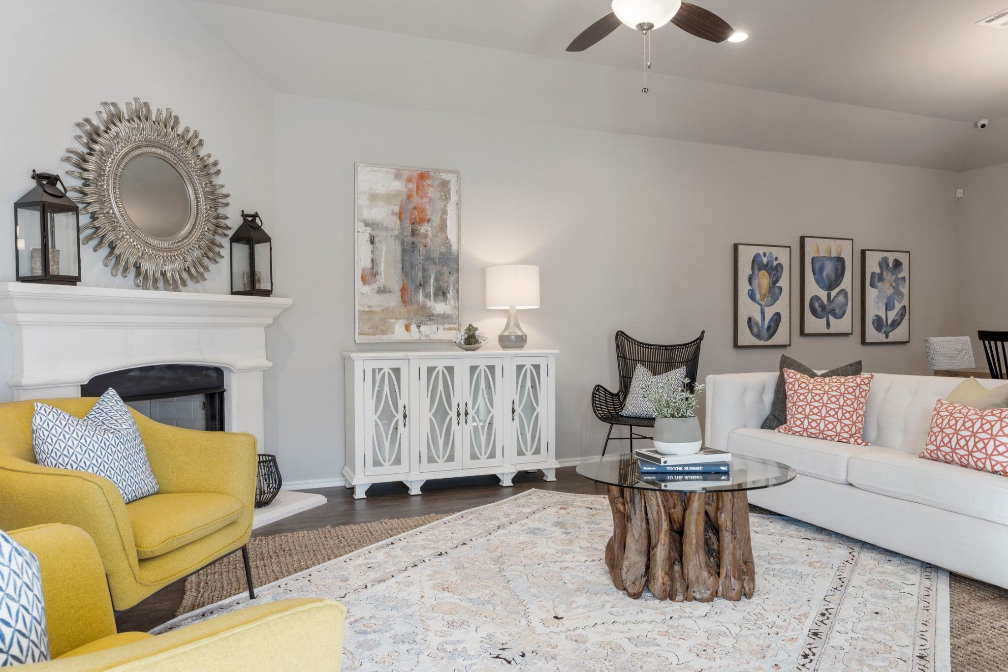 Living Area featured in the Evergreen By Capital Homes in Tulsa, OK