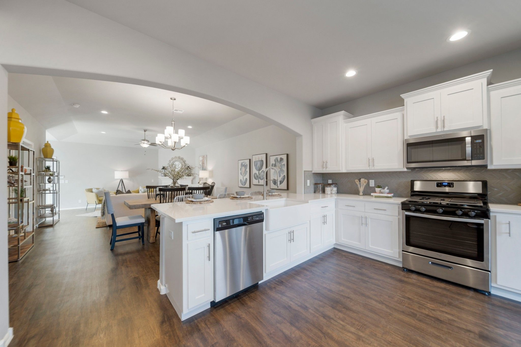 Kitchen featured in the Evergreen By Capital Homes in Tulsa, OK