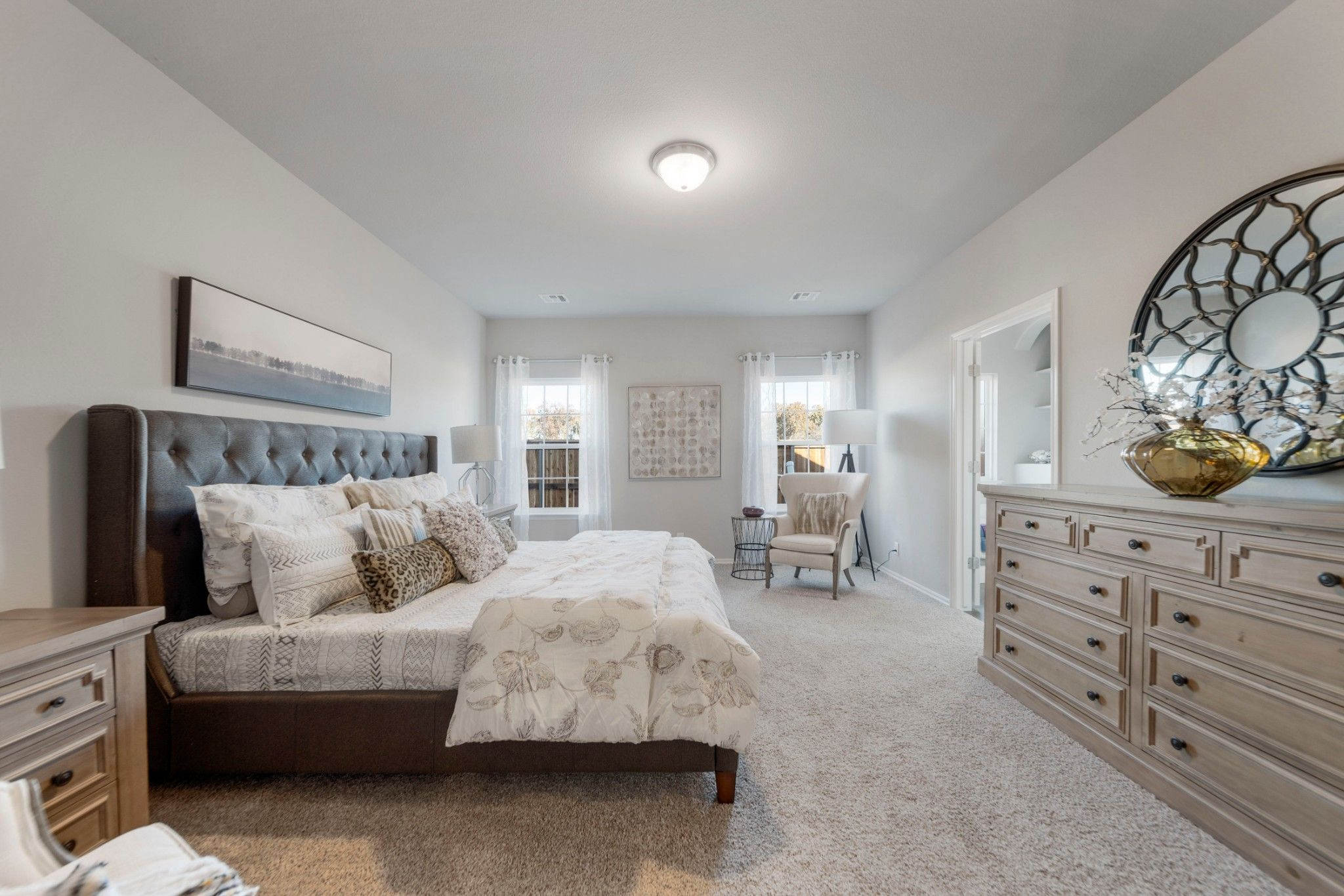Bedroom featured in the Evergreen By Capital Homes in Tulsa, OK