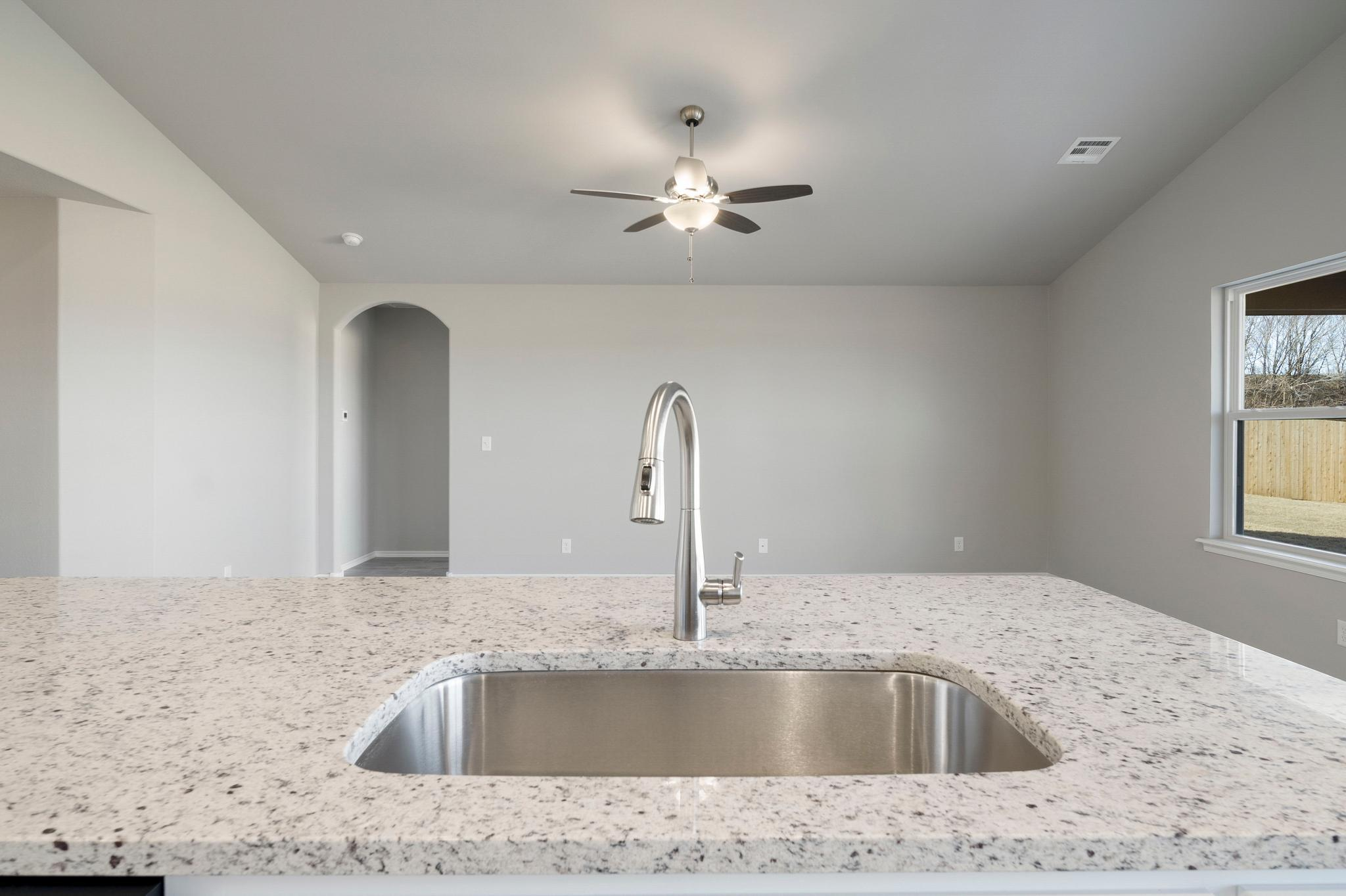 Kitchen featured in the Naples By Capital Homes in Tulsa, OK