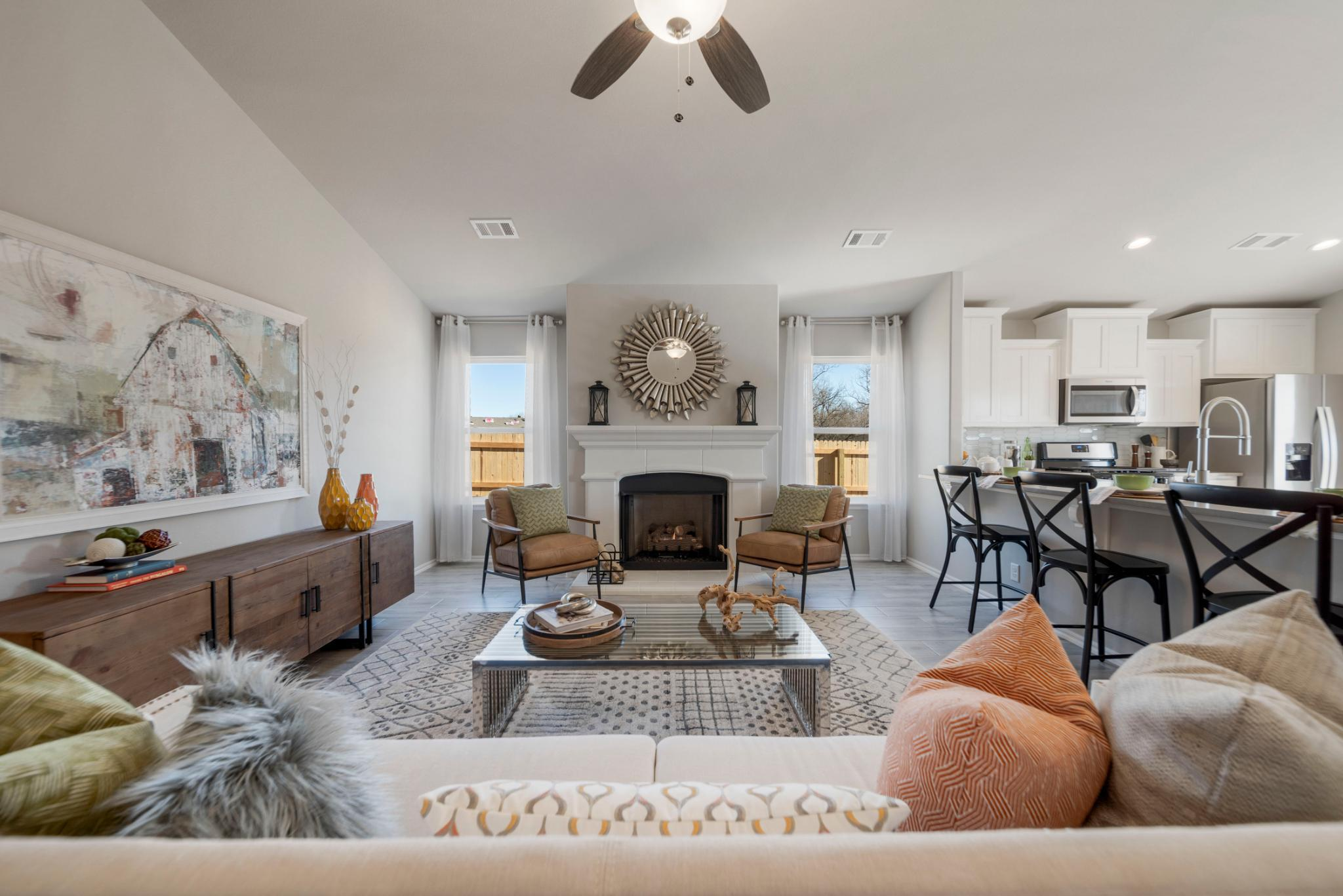 Living Area featured in the Tahoe By Capital Homes in Tulsa, OK
